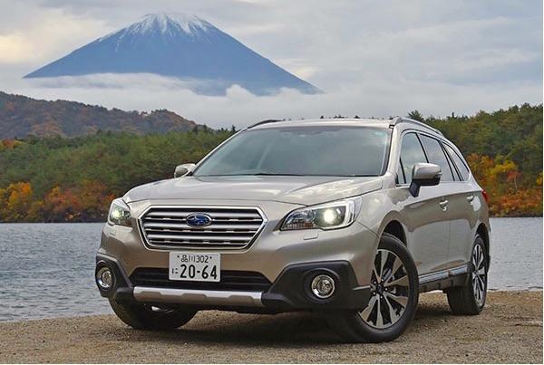 Subaru Legacy Outback Japan February 2015. Picture courtesy jiji.com
