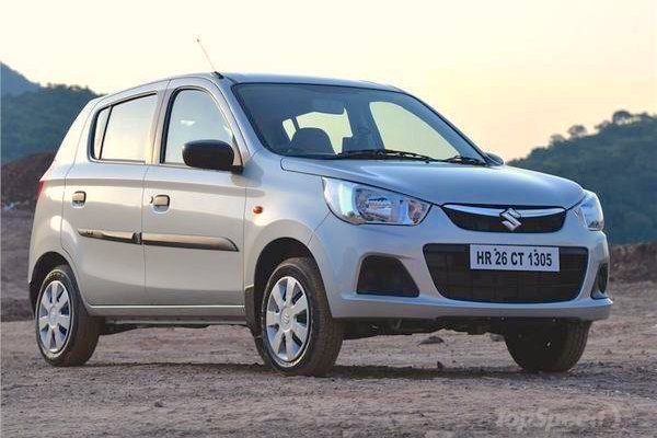 Suzuki Alto K10 Uruguay June 2015. Picture courtesy topspeed.in