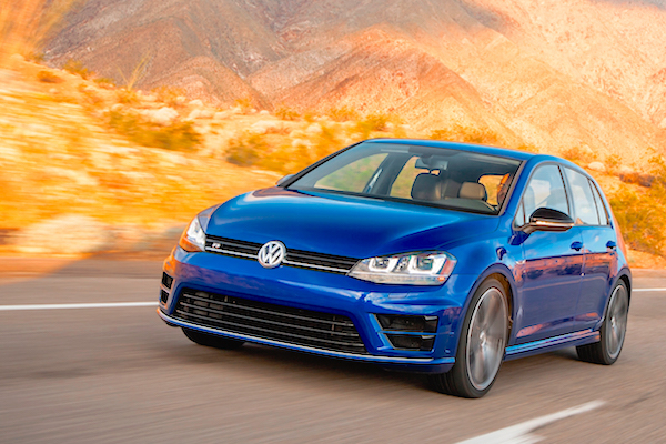 VW Golf Canada March 2015. Picture courtesy motortrend.com