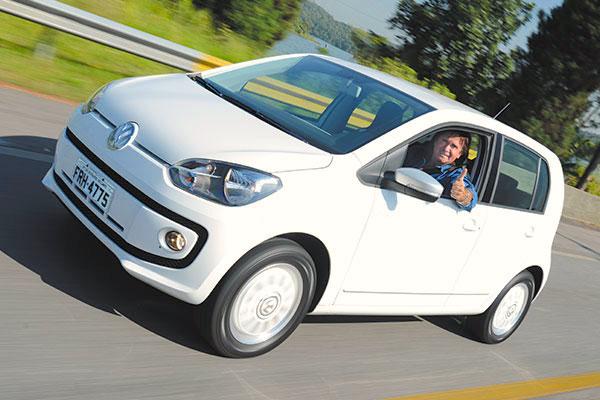VW Up Brazil February 2015. Picture courtesy caranddriverbrasil.uol.com.br