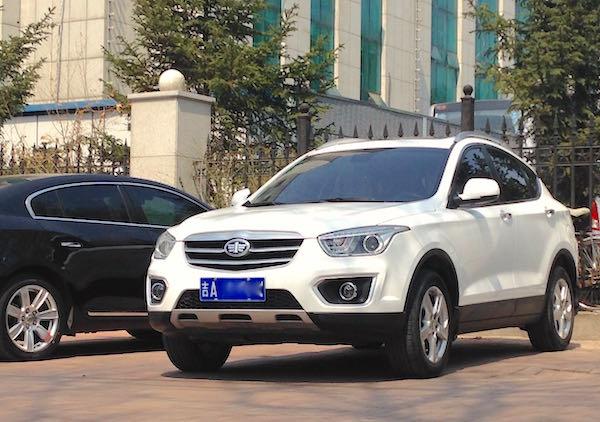 5. FAW Besturn X80 Changchun