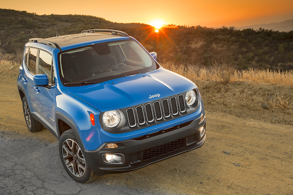 Jeep Renegade Brazil May 2015. Picture courtesy motortrend.com