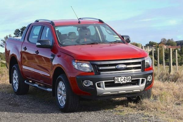 Ford Ranger New Zealand April 2015. Picture courtesy driven.co.nz