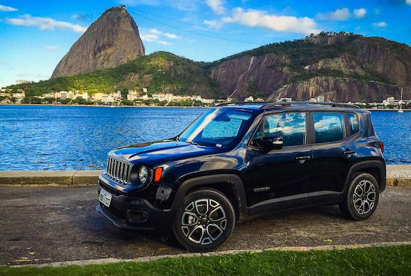 Jeep Renegade Brazil April 2015. Picture courtesy uol.com.br
