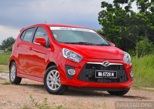 Perodua Axia Malaysia April 2015