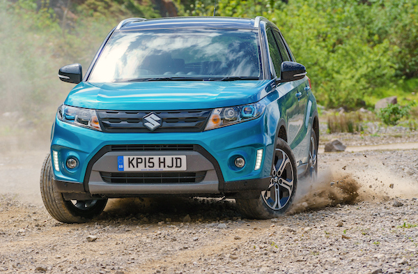 Suzuki Vitara Norway August 2015