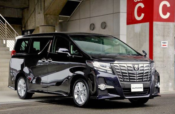 Toyota Alphard Hong Kong April 2015. Picture courtesy response.jp