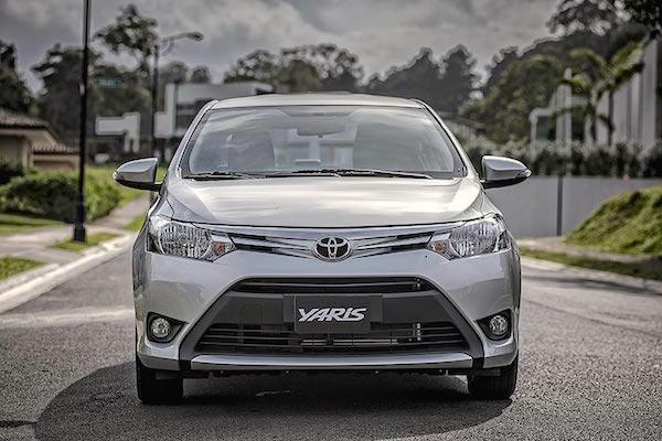Toyota Yaris Lebanon April 2016. Picture courtesy nilemotors.net