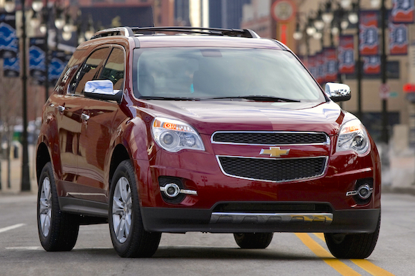 Chevrolet Equinox USA May 2015