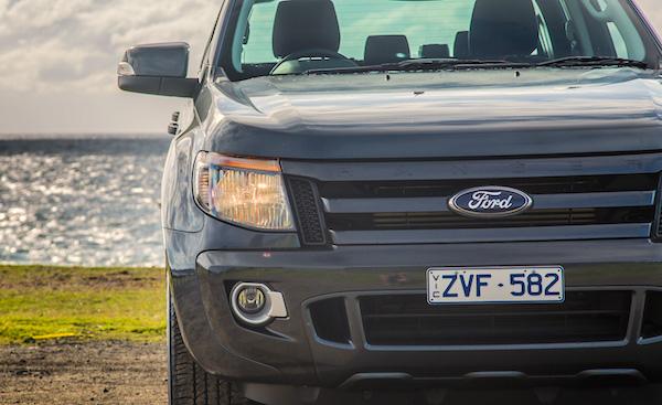 Ford Ranger Australia May 2015. Picture courtesy caradvice.com.au