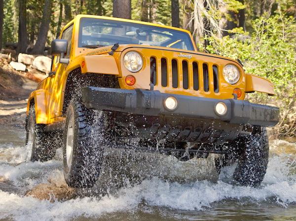 Jeep Wrangler USA May 2015