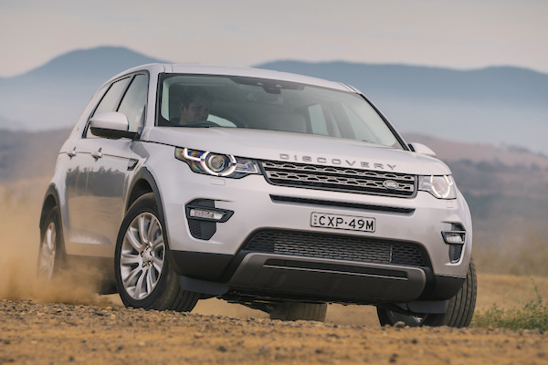 Land Rover Discovery Sport Australia March 2016