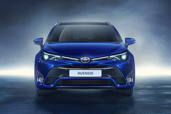 Toyota Avensis Ireland May 2015