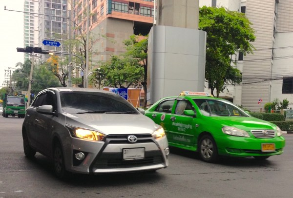 8. Toyota Yaris Bangkok July 2015
