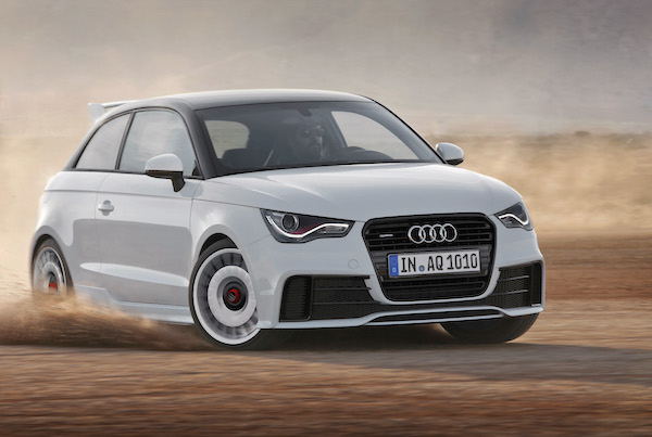 Audi A1 South Korea July 2015
