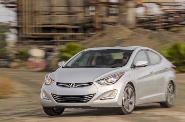Hyundai Elantra Jordan March 2015. Picture courtesy motortrend.com