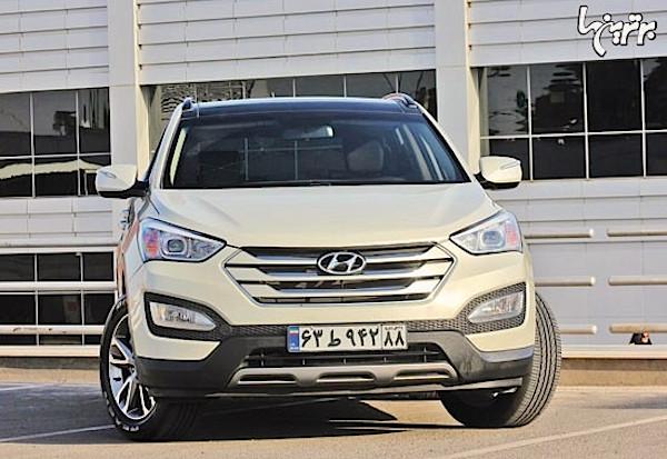 Hyundai Santa Fe Iran March 2015. Picture courtesy bartarinha.ir