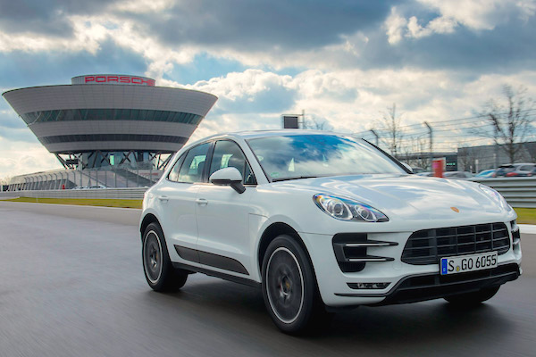 Porsche Macan Hong Kong 2015. Picture courtesy autoexpress.co.uk