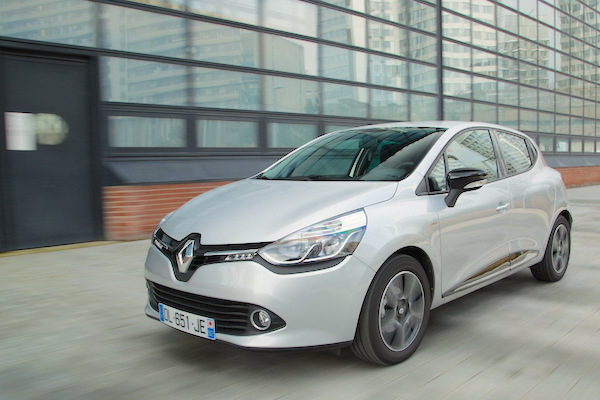 Renault Clio Serbia January 2016. Picture courtesy largus.fr