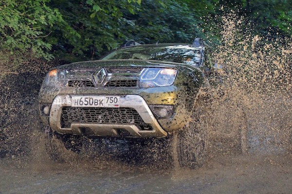 Renault Duster Kazakhstan October 2015. Picture courtesy zr.ru