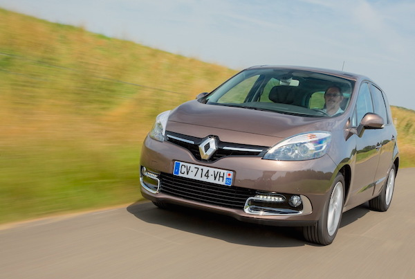 Renault Scenic Luxembourg 2015. Picture courtesy largus.fr