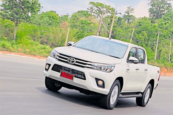 Toyota Hilux Revo Thailand May 2015. Picture courtesy bangkokpost.com