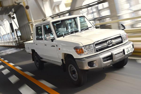Toyota Land Cruiser 70 Japan June 2015. Picture courtesy gazoo.com