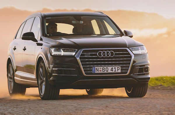 Audi Q7 France July 2015. Picture courtesy carsguide.com.au