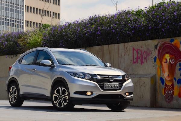 Honda HR-V Brazil July 2015. Picture courtesy carros.uol.com.br