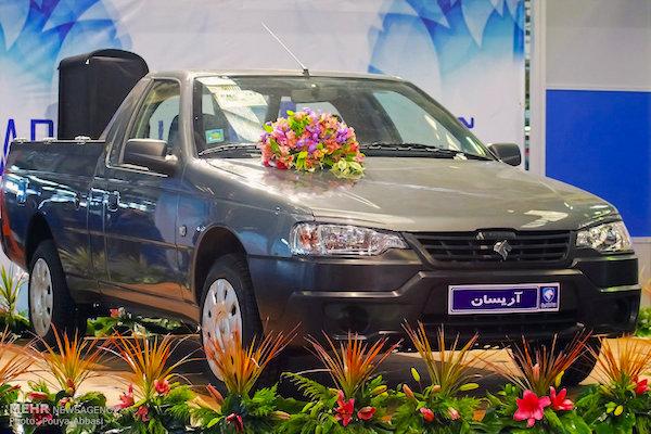 Iran Khodro Arisun Pickup. Picture courtesy danamotor.ir