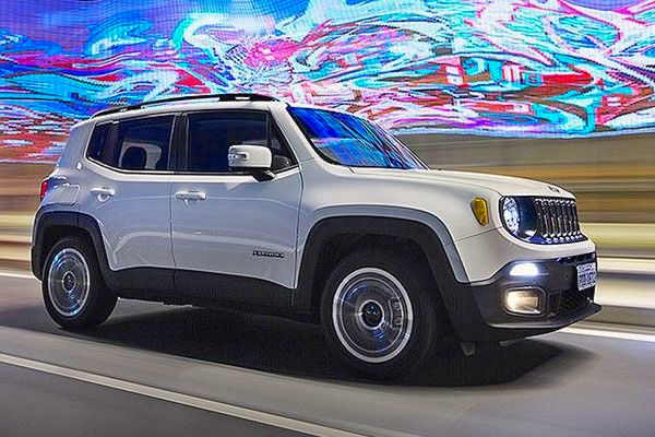 Jeep Renegade Brazil July 2015