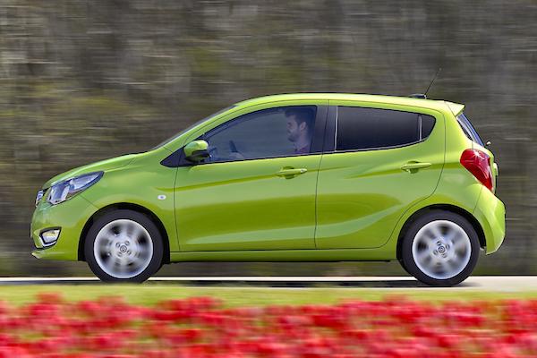 Opel Karl Netherlands July 2015