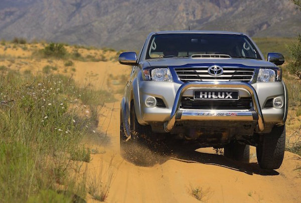 Toyota Hilux Panama June 2015. Picture courtesy cars.co.za