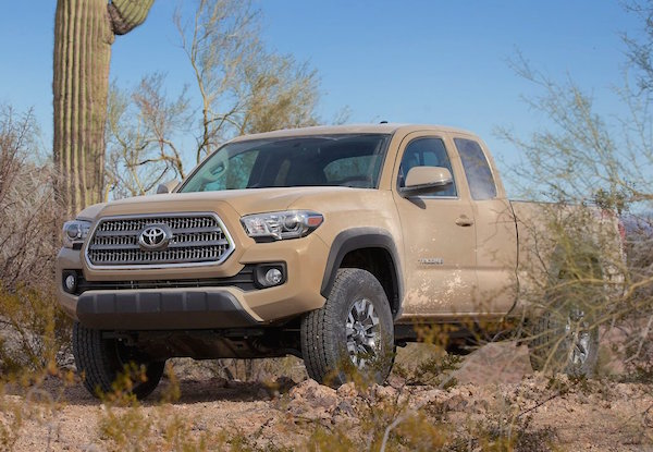 Toyota Tacoma USA July 2015