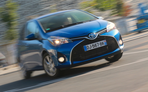 Toyota Yaris France August 2015. Picture courtesy automobile-magazine.fr
