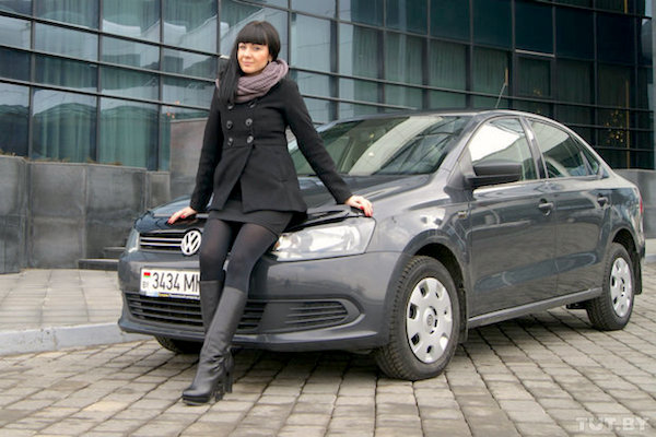 VW Polo Belarus June 2015. Picture courtesy tyt.by
