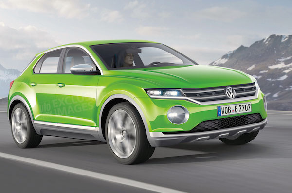 VW Polo SUV Concept. Picture courtesy autoexpress.co.uk