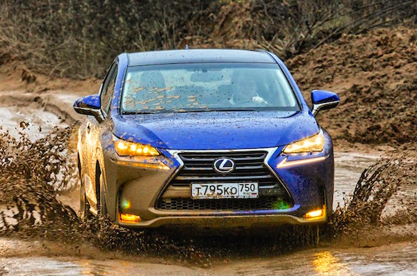 Lexus NX Russia August 2015. Picture courtesy zr.ru