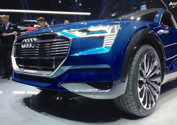 Audi e-tron Quattro Concept Frankfurt 2015