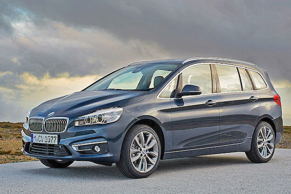 BMW 2er Gran Tourer Europe March 2016. Picture courtesy autobild.de