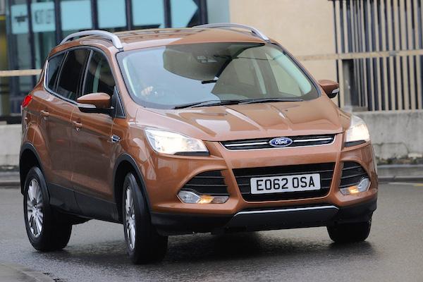 Ford Kuga Hungary July 2016. Picture courtesy autoexpress.co.uk