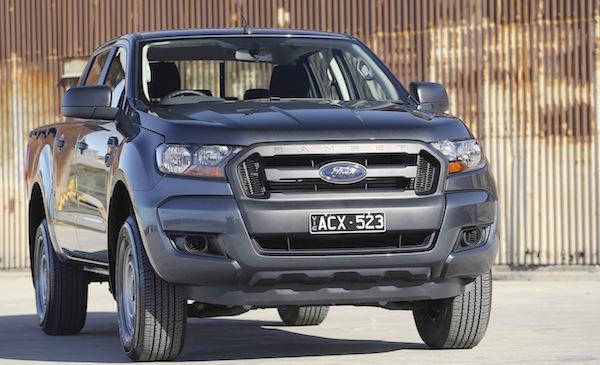 Ford Ranger Australia August 2015. Picture courtesy caradvice.com.au