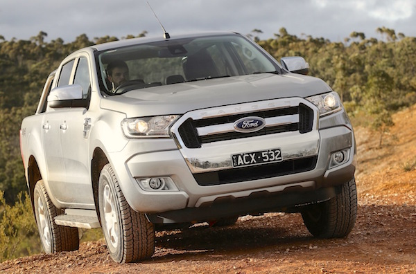 Ford Ranger Australia November 2015. Picture courtesy caradvice.com.au