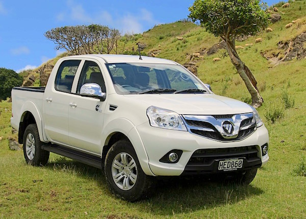 Foton Tunland New Zealand August 2015. Picture courtesy driven.co.nz