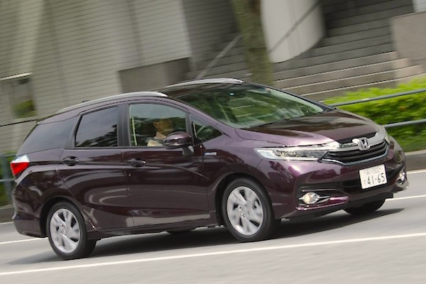 Honda Shuttle Japan August 2015. Picture courtesy autocar.jp