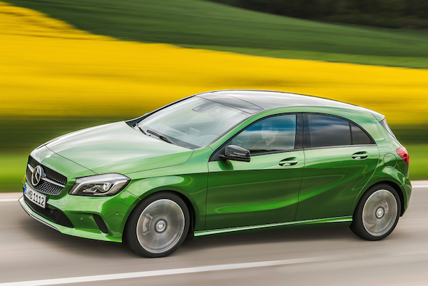 Mercedes A Class Greece May 2016