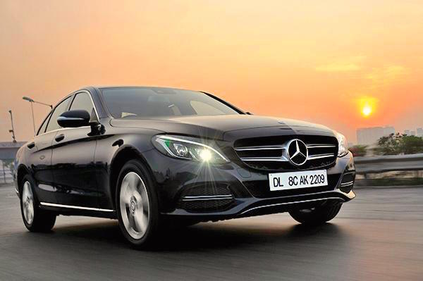 Mercedes C Class India August 2015. Picture courtesy highlineautomotive.in