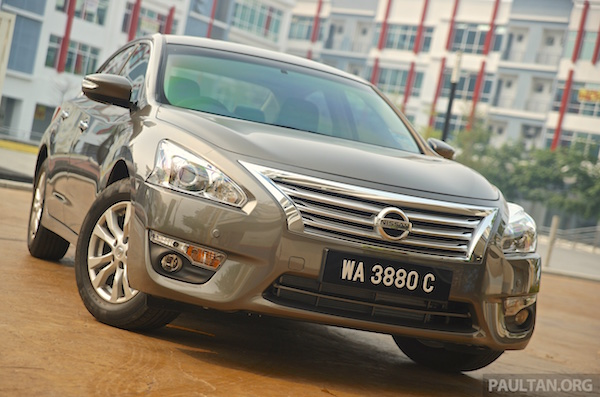 Nissan Teana Malaysia July 2015. Picture courtesy paultan.org