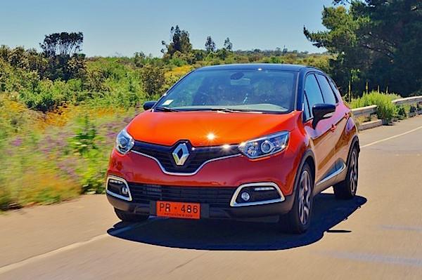 Renault Captur Chile August 2015. Picture courtesy automoviles.neonline.cl