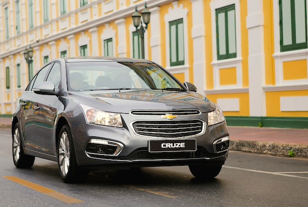 Chevrolet Cruze Vietnam September 2015